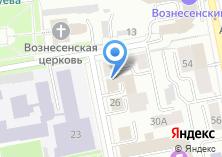 Компания «Свердловская областная коллегия адвокатов» на карте