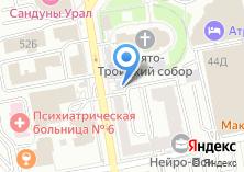 Компания «Новошпат» на карте