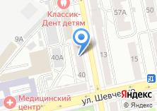 Компания «Здравень» на карте