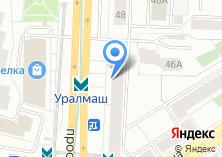 Компания «ЕКБ Строй групп» на карте