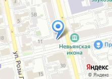 Компания «НОМОС БАНК» на карте