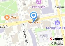 Компания «Центр развития туризма Свердловской области» на карте
