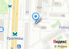 Компания «АКАДО-Екатеринбург» на карте
