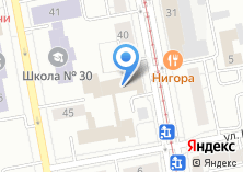 Компания «Столовая Екатеринбургский филиал Московское ПрОП Минтруда России» на карте