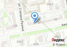 Компания «Хеликс» на карте