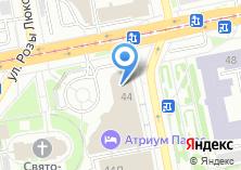 Компания «Виза96» на карте