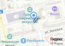 Компания «ФКБ ЮНИАСТРУМ БАНК» на карте