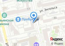 Компания «Электромонтаж66» на карте