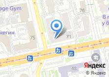 Компания «TDС» на карте
