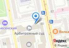 Компания «Daily» на карте
