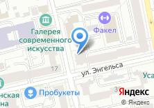 Компания «НДМ» на карте
