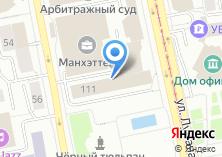 Компания «Управление капитального строительства Свердловской области» на карте