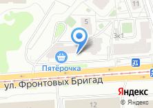Компания «Прогресс-ТО» на карте