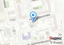 Компания «Автостоянка в переулке Шаронова» на карте