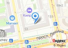 Компания «2dance» на карте