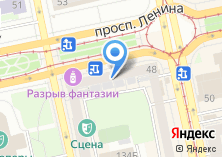 Компания «Театральное кафе» на карте