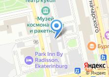 Компания «ЭЯ» на карте