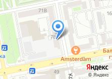 Компания «Инвестпромстрой» на карте