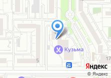 Компания «Миротель» на карте