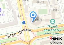 Компания «Уральские пельмени» на карте
