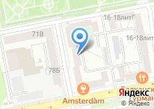 Компания «УралХимСервис» на карте