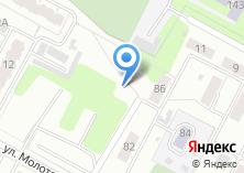 Компания «Автостоянка на ул. Колхозников» на карте