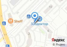Компания «АСТ-сервис» на карте