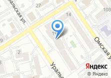 Компания «УралСистемБезопасность» на карте