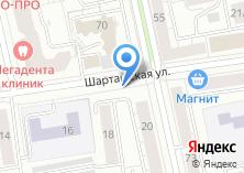 Компания «Магазин продуктов на Шарташской» на карте