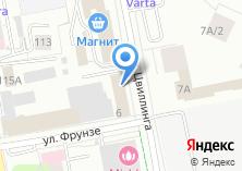 Компания «Маштехника Урал» на карте