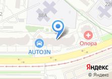 Компания «УРАЛТЕХНОХОЛОД» на карте