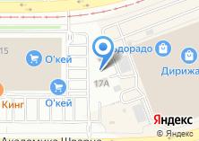 Компания «А-class» на карте