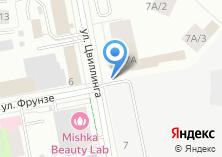 Компания «МК-Проф» на карте