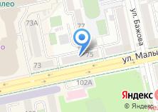 Компания «ДжиИ Мани Банк» на карте