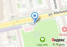 Компания «Екатеринбургский Суворовско-Нахимовский кадетский клуб» на карте