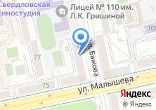 Компания «МЕРКАТОмода» на карте