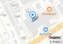Компания «УралРегионСтрой» на карте