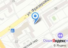 Компания «Автостоянка на ул. Фрезеровщиков» на карте