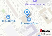 Компания «Атлантик» на карте