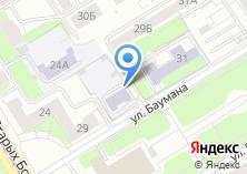 Компания «Автостоянка на ул. Баумана» на карте