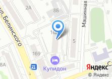 Компания «Вектра» на карте
