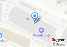 Компания «Юнилэнд-Екатеринбург оптовая компания» на карте