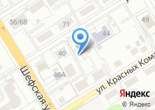 Компания «Автостоянка на ул. Кобозева» на карте