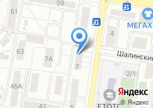 Компания «Магазин швейных машин и фурнитуры» на карте