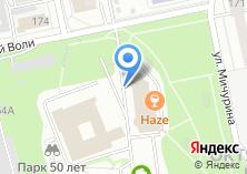 Компания «Mirmebeli96.ru» на карте