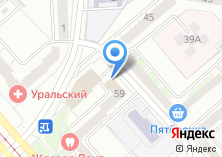 Компания «Nitro» на карте
