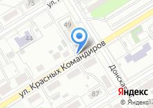 Компания «Автостоянка на ул. Красных Командиров» на карте