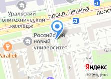 Компания «Урал-угольрф» на карте