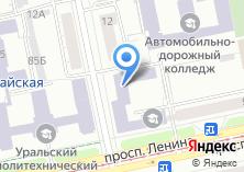 Компания «Общежитие ЕАДК» на карте