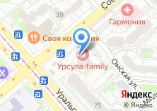 Компания «Строящийся жилой дом по ул. Уральская» на карте